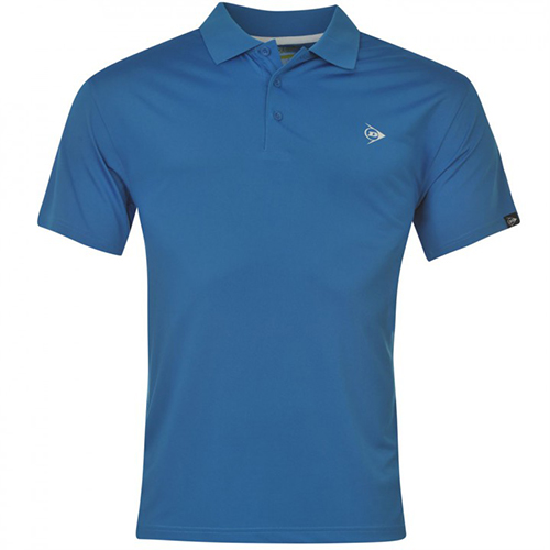 Поло Dunlop Plain Polo Shirt 71 Blue