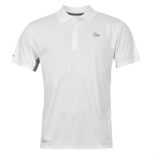 Dunlop Performanc Polo White S